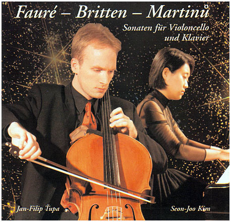 CD with sonatas for cello and piano