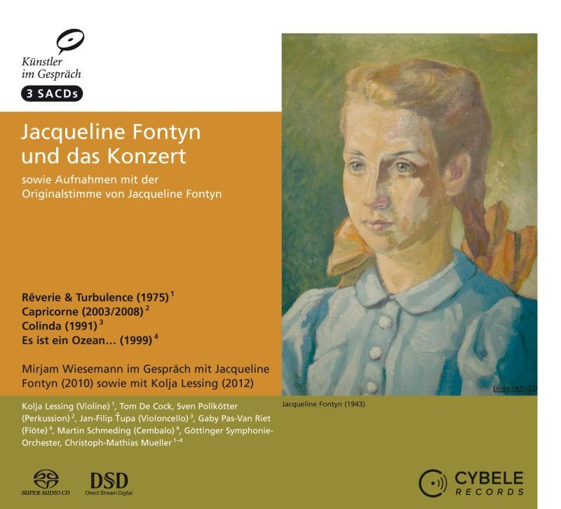 Jacqueline Fontyn and the concerto das Konzert - 3 SACD edition